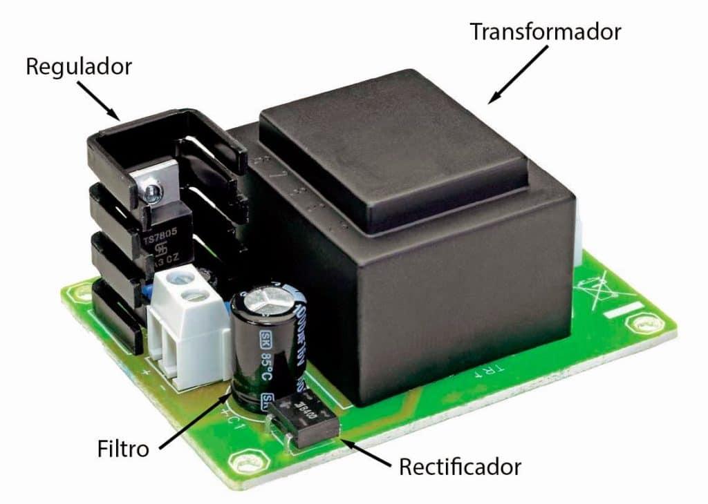 fuente de alimentación electrónica