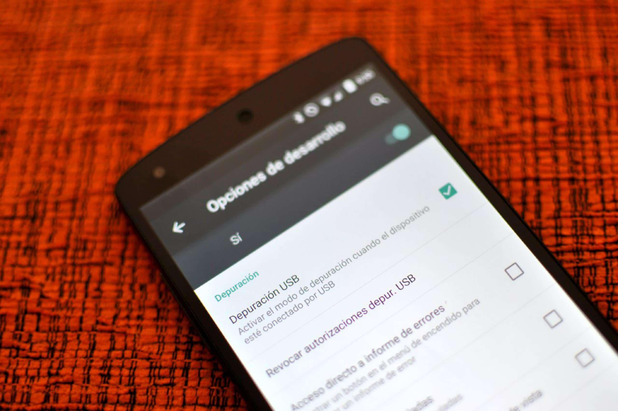 Activar depuración USB en android a pantalla rota