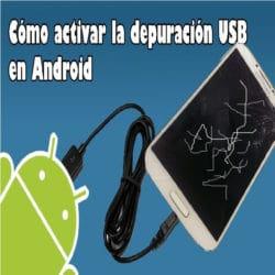 Activar depuración usb a pantalla rota en Android