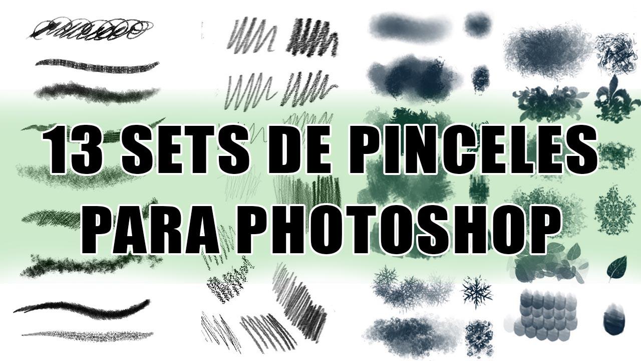 como instalar pinceles en photoshop